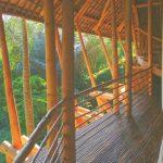 パノラマ写真で見るバンブー建築 グリーンビレッジバリ