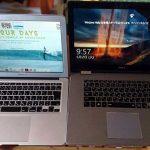 4Kタブレットにもなるノートパソコン DELL Inspiron15 7000 レビュー(macbookと比較)